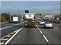 SP1476 : Northbound M42, Monkspath by David Dixon