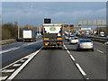 SP1476 : Northbound M42, Monkspath by David Dixon