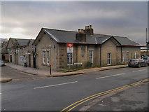 SK0394 : Glossop Railway Station by David Dixon
