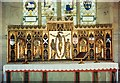 SP0634 : St Michael & All Angels, Stanton - Reredos by John Salmon