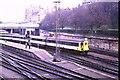 NT2573 : Train leaving Edinburgh (Waverley), 1985 by Malc McDonald