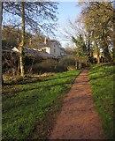 SX8963 : Approaching Lanscombe House by Derek Harper