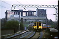 NS5566 : Trains passing at Partick by Malc McDonald
