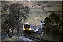 NN3825 : West Highland Line at Crianlarich by Malc McDonald