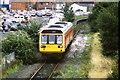 SJ3350 : Train leaving Wrexham Central station by Malc McDonald