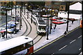 SJ8497 : Tram at Manchester Piccadilly by Malc McDonald