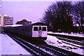 TQ2474 : Snow at East Putney by Malc McDonald
