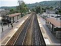 ST0888 : Treforest railway station, Mid Glamorgan by Nigel Thompson