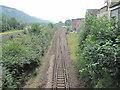 ST0499 : Mountain Ash railway station, Mid Glamorgan by Nigel Thompson