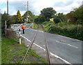 TR2648 : Shepherdswell Level Crossing by Des Blenkinsopp