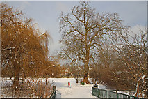 TQ2992 : Arnos Park, London N11 by Christine Matthews