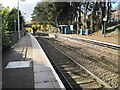 ST1595 : Hengoed (Low Level) railway station, Gwent by Nigel Thompson