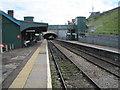 SO1500 : Bargoed railway station, Gwent by Nigel Thompson