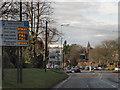 SP1579 : Warwick Road (B4025), Solihull by David Dixon
