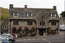 SY9682 : The Bankes Arms Hotel, Corfe Castle by Phil Champion