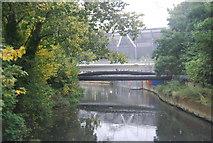 TQ3784 : River Lea by N Chadwick