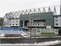 TG2407 : Norwich City Football Ground by Alex McGregor
