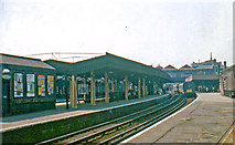 TQ2775 : Clapham Junction (outward on ex-LSW main lines), 1966 by Ben Brooksbank