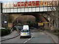 SP0887 : Railway Bridge, Lawley Middleway (A4540) by David Dixon