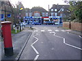 TL1314 : Sun Lane, Harpenden & Sun Lane Postbox by Adrian Cable