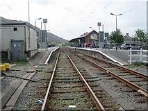 SH5639 : Porthmadog railway station by Nigel Thompson
