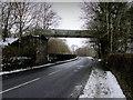 SD7543 : Disused Bridge over Chatburn Road by Chris Heaton