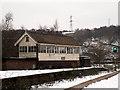 SE0925 : Halifax signal box by Stephen Craven
