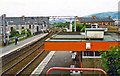 NS4970 : Clydebank station, view west by Ben Brooksbank
