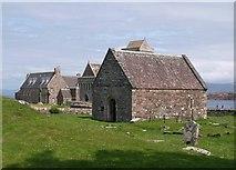 NM2824 : Saint Orans Chapel Iona by Steve Houldsworth