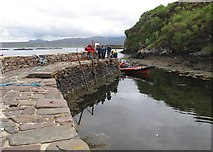 NB9907 : The Pier At Tanera More by Rude Health