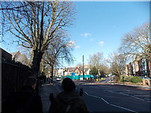 TQ3473 : View of Whitegothic House from Lordship Lane by Robert Lamb