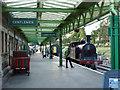 SZ0278 : Platform at Swanage station by Phil Champion