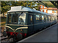 SZ0278 : Class 121 bubblecar at Swanage station by Phil Champion