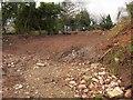 SX8768 : Site of demolished house, Old Newton Road by Derek Harper