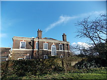 TQ3473 : View of a house in Dulwich Park #2 by Robert Lamb