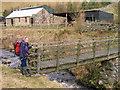 NT8810 : Buildings at Batailshiel Haugh by Trevor Littlewood