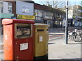 TQ1196 : Anthony Joshua's Gold Postbox, Watford by David Anstiss
