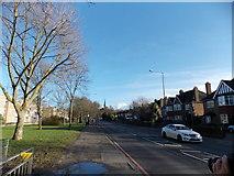 TQ3473 : View along Dulwich Common #2 by Robert Lamb