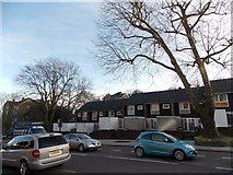 TQ3473 : Houses with a stepped appearance on London Road by Robert Lamb