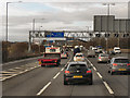 SP0195 : Northbound M6 between Junction 8 and Junction 9 by David Dixon