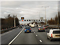 SJ9801 : Northbound M6 near Bloxwich by David Dixon