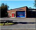 SO4382 : Craven Arms Fire Station by Jaggery