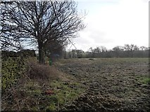 SE2606 : Public footpath to Small Lanes Farm by Christine Johnstone