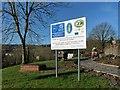 SO0307 : Restoration work near to Cyfarthfa Park by Robin Drayton