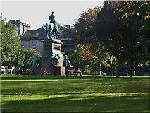 NT2473 : Albert Memorial, Charlotte Square by Barbara Carr