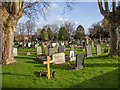 SP0857 : Alcester Cemetery by David P Howard