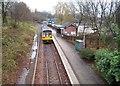 SJ9588 : Rose Hill Marple railway station by Nigel Thompson
