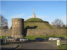 TR1457 : Canterbury Dane John Mound by Nigel Thompson