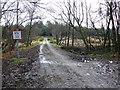 SY8291 : Track on Throop Heath by Nigel Mykura