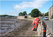 NU0052 : In the old harbour, just off Pier Road by Barbara Carr